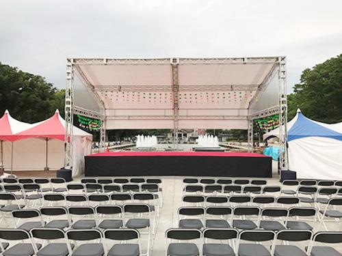 ステージ施工なら神奈川イベント会社