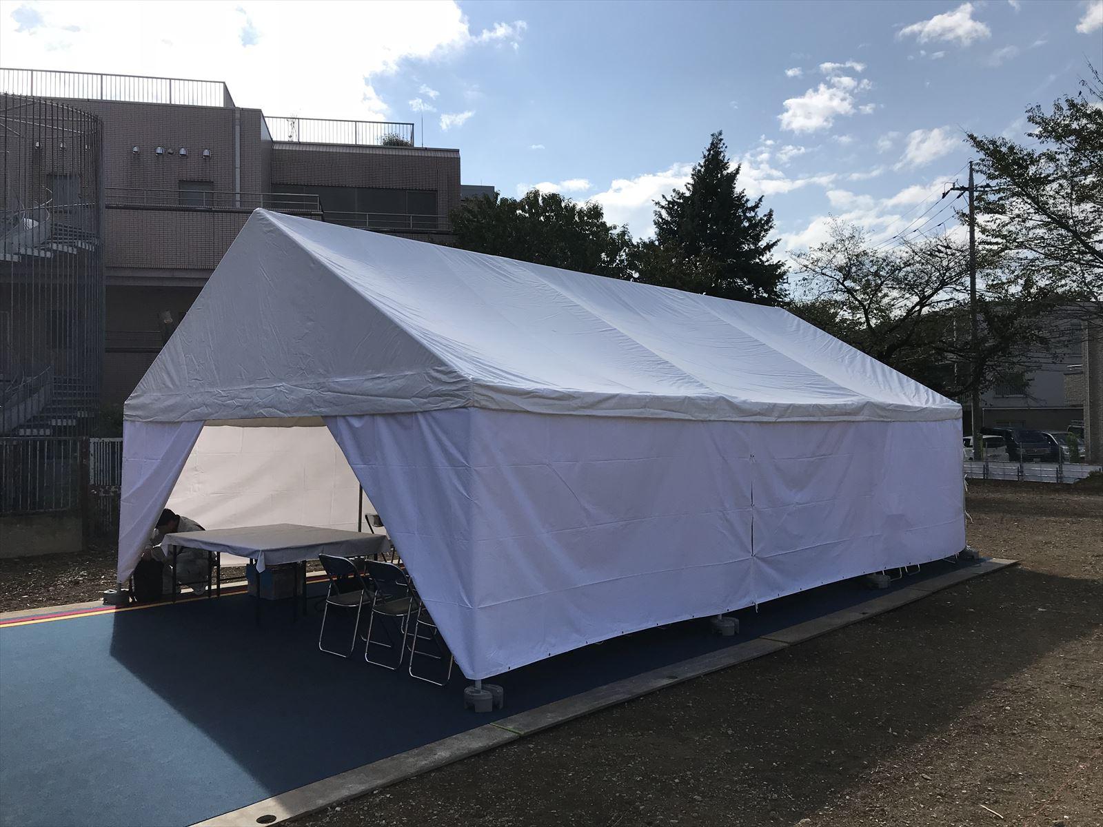 15坪テントなら神奈川イベント会社