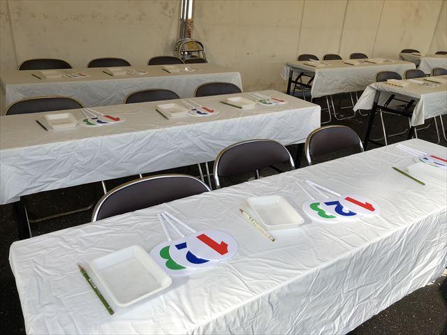 テーブルクロスなら神奈川イベント会社にお任せ!