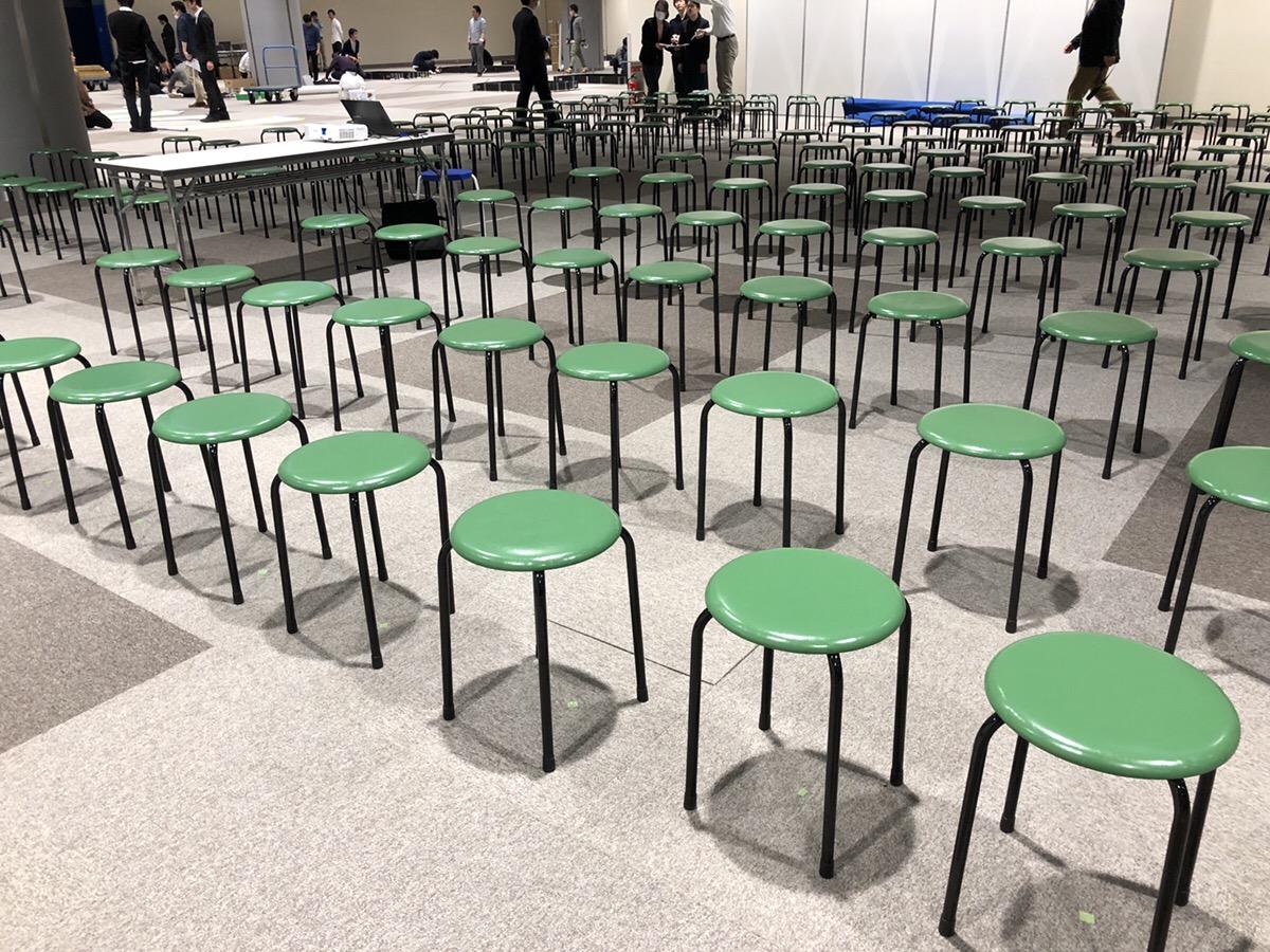 丸椅子ご使用なら神奈川イベント会社へ!