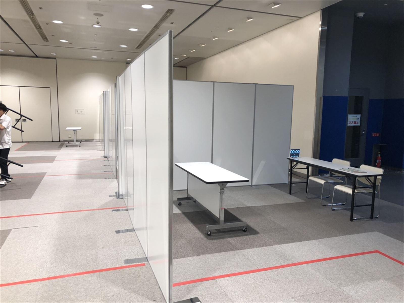 展示会等で大活躍!システムパネル大量レンタルなら神奈川イベント会社へ!