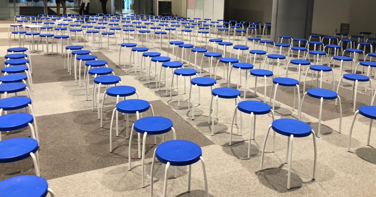 プラスチック製の丸椅子なら神奈川イベント会社!!