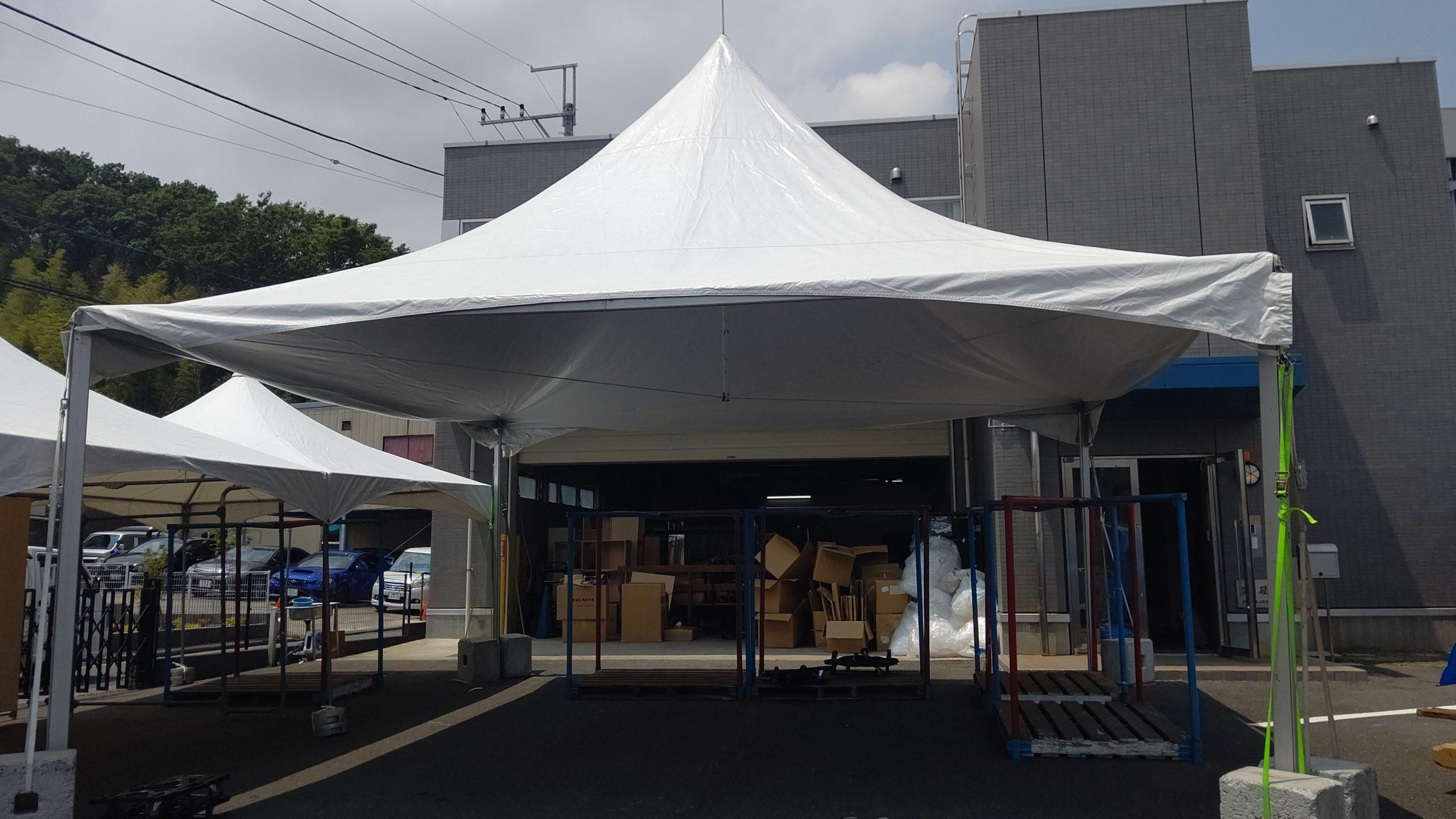 神奈川でロイヤルテントをレンタルするならイベント21!