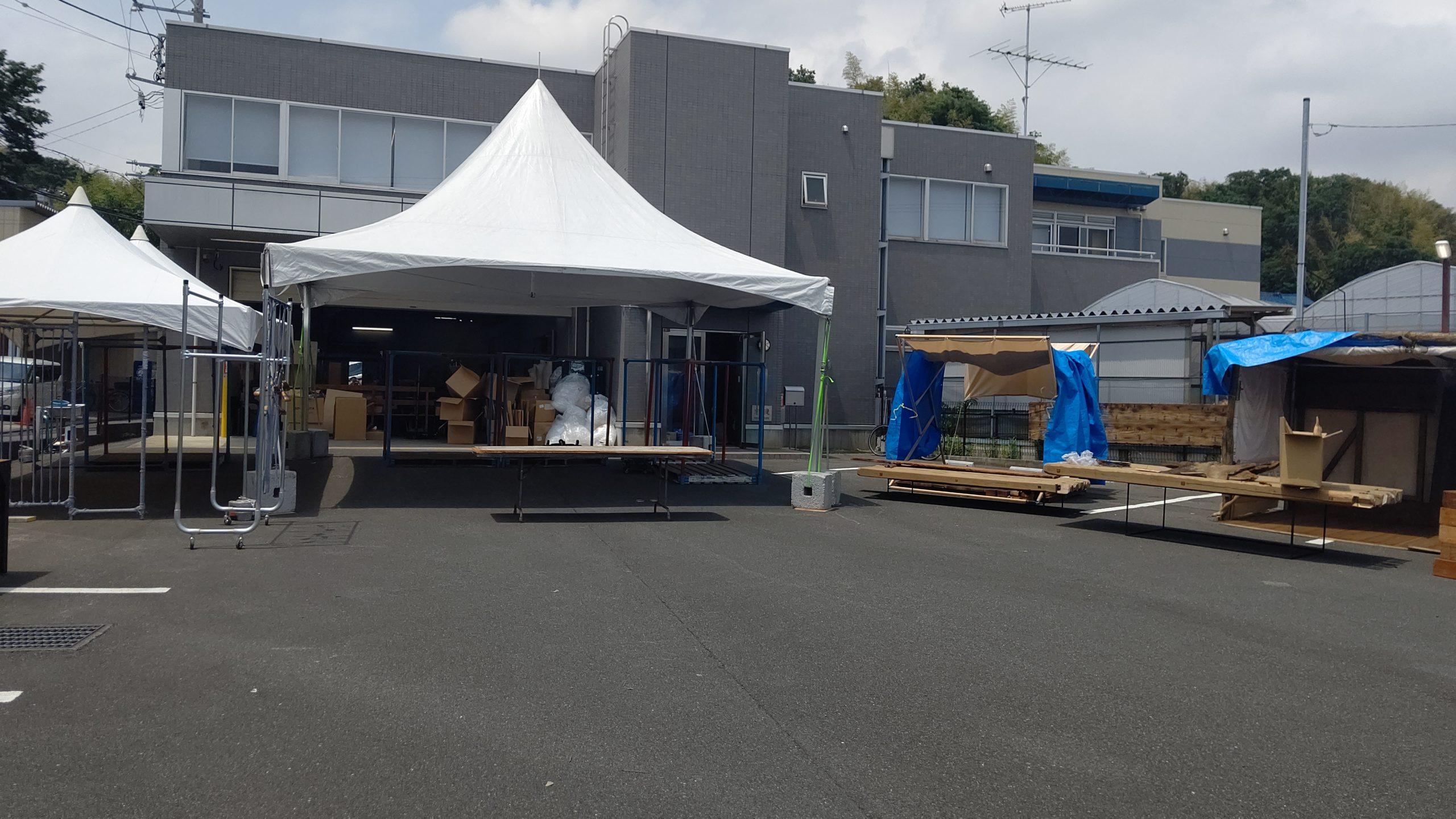 テント チーム横浜結成!?