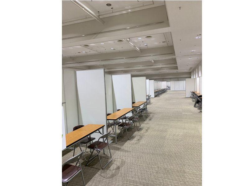 屋内パーテーションなんでもあります神奈川イベント会社!