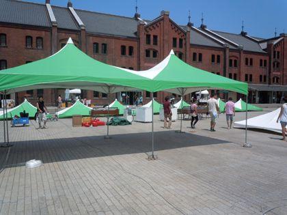 オシャレなテントが立てたいときはイベント21神奈川支店へ!