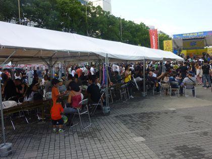 神奈川で3坪テント立てるならイベント21の神奈川支店へ!