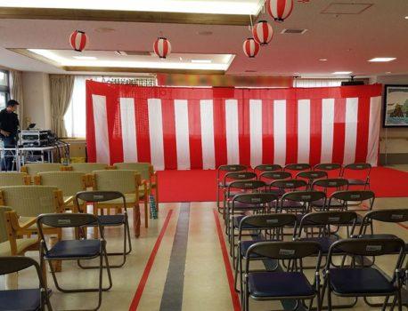 紅白幕のレンタルならイベント21へ!